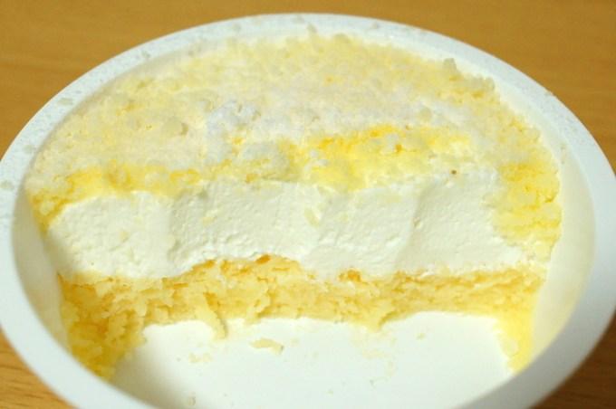 2層仕立てのフロマージュケーキ