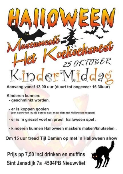 Halloween Kindermiddag - Koekoeksnest