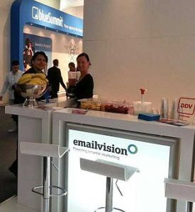 Messe und Event Catering - Messe Köln Dmexco Smoothie Catering