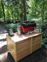 mobile Kaffee Catering Bar