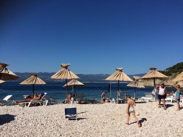 Strand bei Vribnik