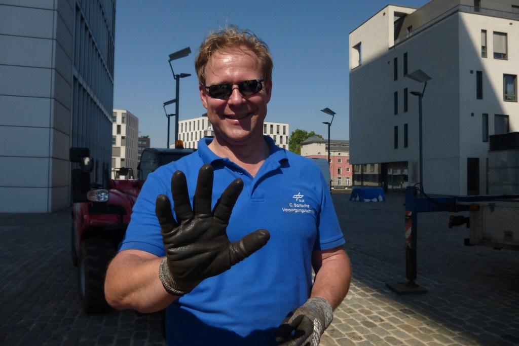 Carsten Bartocha arbeitet als Versorgungstechniker bei der DLR.
