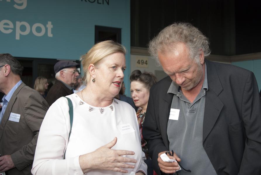 Anke von Heyl und Dirk Müller