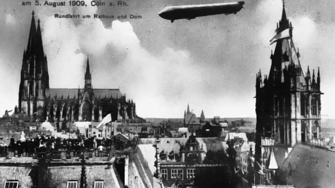 """Das Luftschiff """"Zeppelin II"""""""