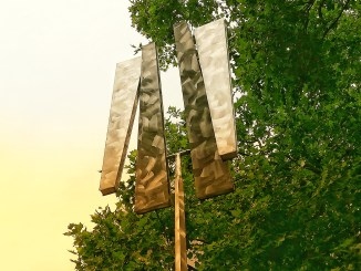 FOUR TRAPEZOIDS AS TWO RECTANGLES IV Kunstwerk in Köln