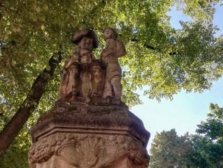 Der alte Hänneschen-Brunnen in der Südstadt