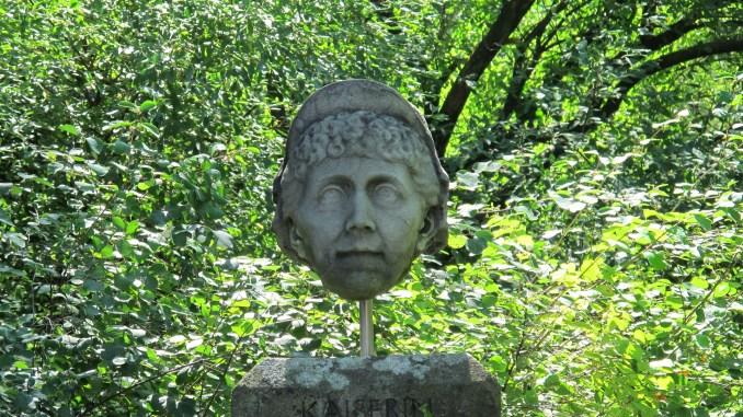 Büste der Kaiserin Augusta. Flora Köln