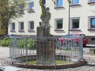 Der Barbarabrunnen in Ehrenfeld