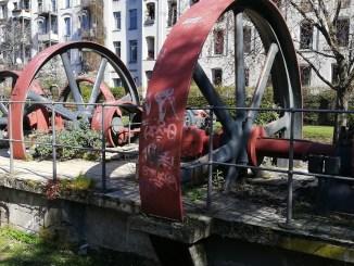 Industriedenkmal Stollwerk in der Kölner Südstadt