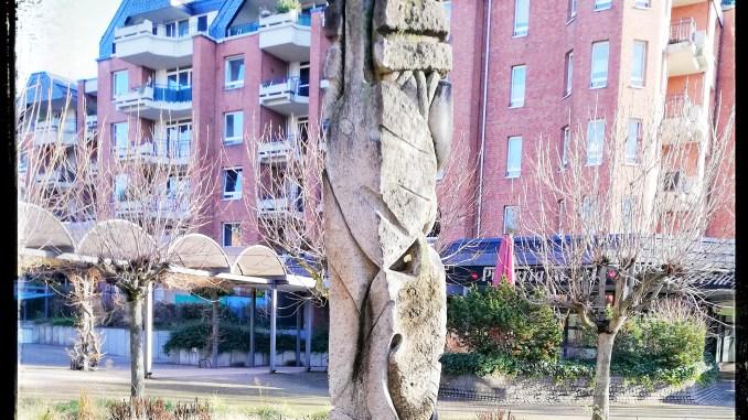 Der Säulenbrunnen in Niehl