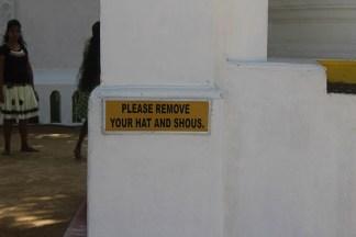 Bewijs dat Engelse educatie in Sri Lanka nog wel nodig is :-)
