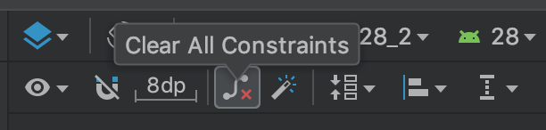 clear all constraints