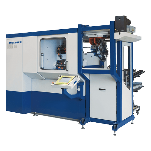 Koepfer Model 200 CNC Gear Hobbing Machine
