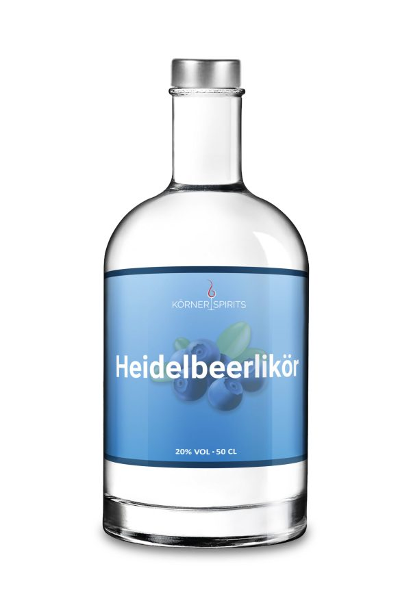 Körner Spirits Bramberg Ebern Familienbrennerei Heidelbeerlikör 50cl 20%