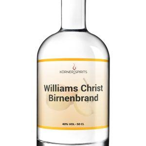 Körner Spirits Bramberg Ebern Familienbrennerei Williams-Christ Birnenbrand 50cl 40%