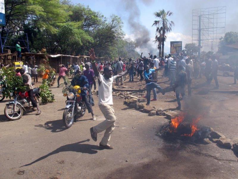 Rellen in Kisumu