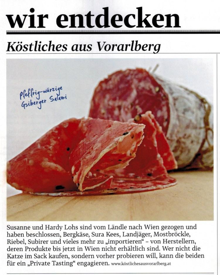 Gsiberger Salami von der Metzgerei Walser – zum Reinbeißen!