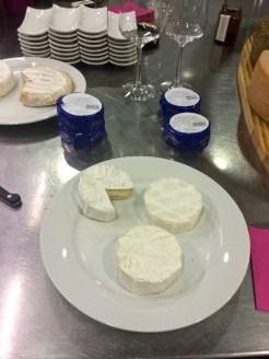 Camembert der Feinkäserei Bantel bei der Küchenparty von Heidis Exquisit Catering