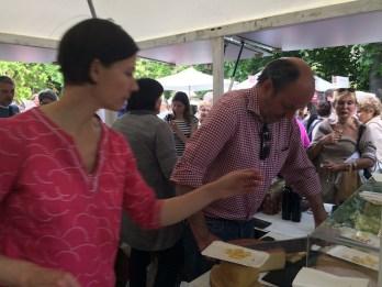 Susanne & Hardy Lohs am Stand von Köstliches aus Vorarlberg am Genussfestival 2017 im Stadtpark in Wien