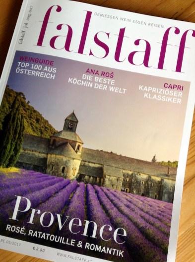Cover der Juli/August-2017-Ausgabe des FALSTAFF
