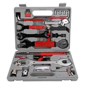 Werkzeugkoffer zur Reparatur von Hartschalenkoffern