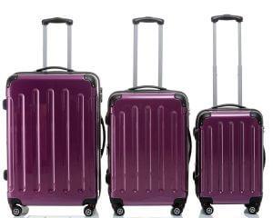 gemusterte koffer