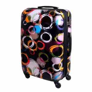 XL Hartschalen Koffer Trolley TSA Polycarbonat 85 Liter Multi Color 813 / 18