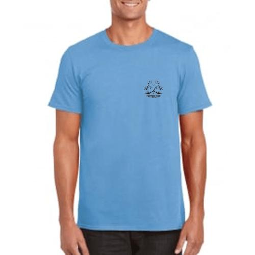 Carlton Leach Caroline Blue T-Shirt