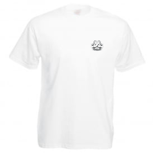 Carlton Leach white t-shirt