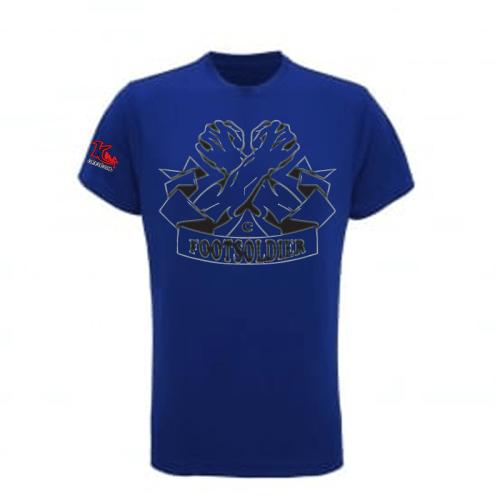Carlton Leach T-Shirt Blue Centre