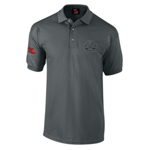 Carlton Leach Polo Shirt Charcoal