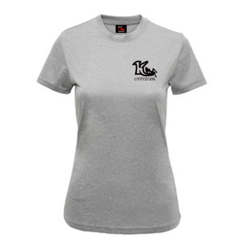 Woman's Melange Performance T-Shirt Sliver