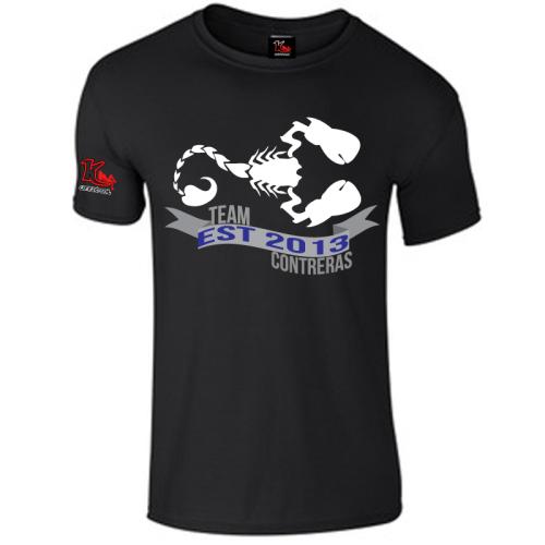 Team Contreras Black T-Shirt