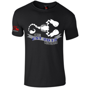 Team Contreras Black T-Shirt