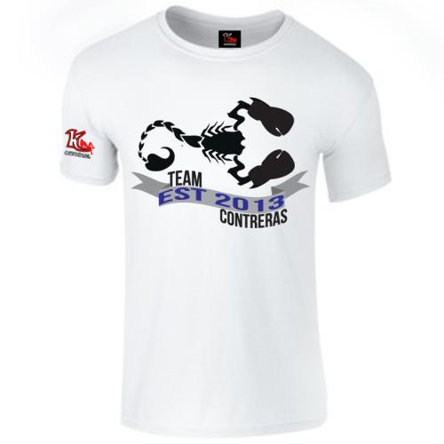 Team Contreras White T-Shirt