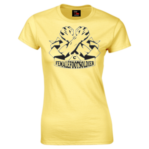 Carlton Leach Collection FemaleFootsoldier T-Shirt