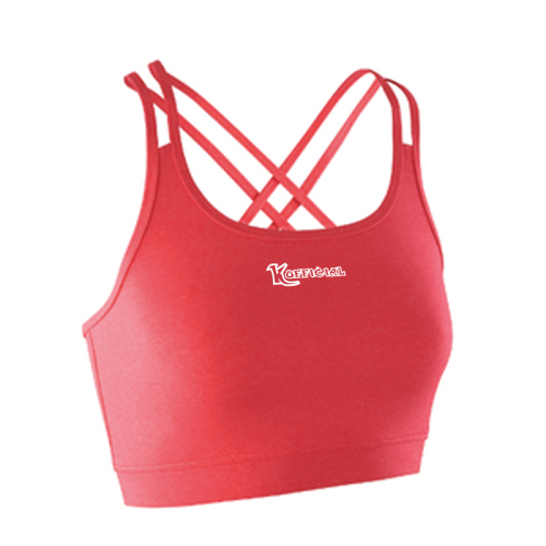 KOfficial Women's Fitness Crop Top