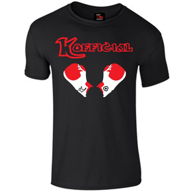 KOfficial Black Boxing Gloves T-Shirt