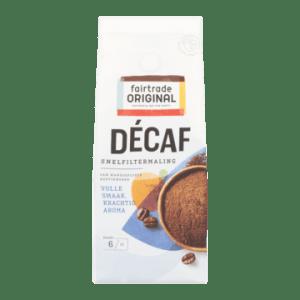 Fairtrade Original Decaf Koffie Snelfiltermaling 250 g bij Jumbo