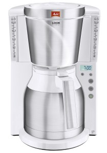 Melitta LOOK IV THERM TIMER Koffiefilter apparaat Wit