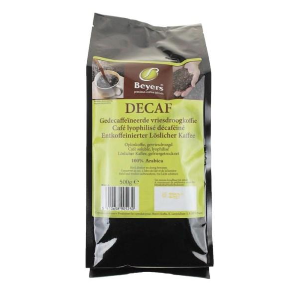 Premium Decaf Gevriesdroogde Koffie - 500 gram