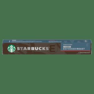 Starbucks® Decaf Espresso Roast by Nespresso® Dark Roast 10 Capsules