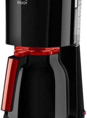 Melitta Enjoy II Therm 1017-10 - Filter-koffiezetapparaat - Zwart/Rood
