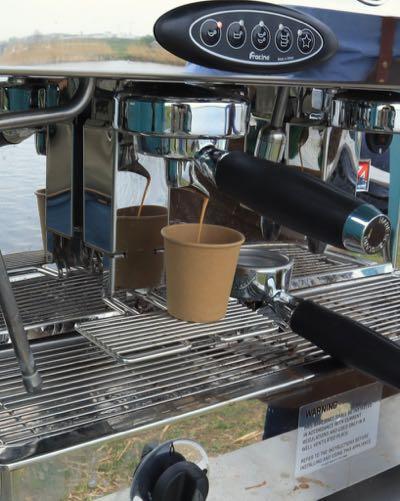 Koffie op locatie
