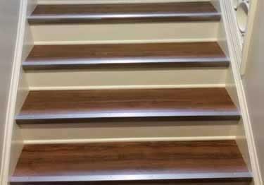 Metal Stair Nosing Aluminum | Tile To Wood Stair Transition | Stair Nose | Flooring | Porcelain | Builder Grade | Threshold