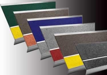 Metal Stair Treads Bold Step | Outdoor Carpet Stair Treads | Stair Runner | Rug | Stair Nosing | Slip Resistant | Flooring