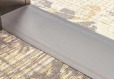 johnsonite vinyl carpet strip feature strip thresholds