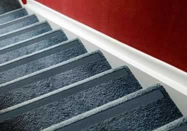 Carpet Stair No Slip Nosing   Non Slip Stair Runners   Mat   Beige   Wooden Steps   Treads Carpet   Bullnose Carpet