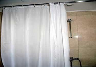 6 pk commercial heavyweight shower curtains rustproof grommets
