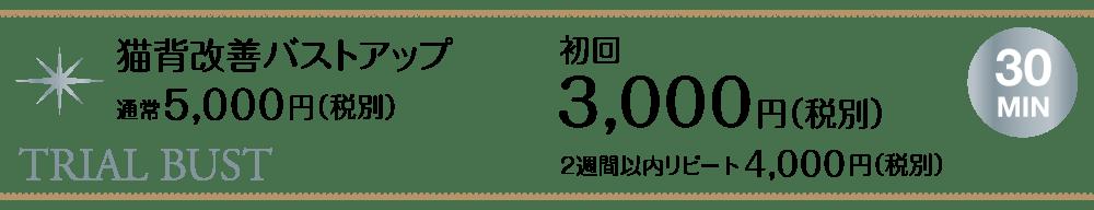 猫背改善バストアップ_初回3000円【東京・新宿・小顔矯正・骨盤矯正】WAXPERIENCE
